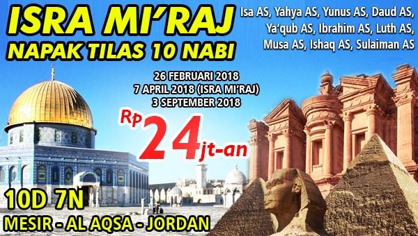 Wisata Halal Mesir-Aqso-Jordan