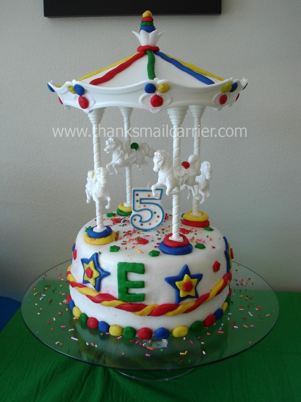 Pin Wilton Carousel Cake Topper Set Pony Carnival Birthday