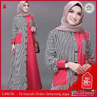 Jual RRJ329D242 Dress Lulla Maxy Wanita St Terbaru Trendy BMGShop