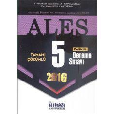 İrem Yayıncılık ALES Tamamı Çözümlü 5 Fasikül Deneme Sınavı (2016)