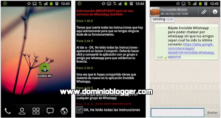 Invisible WhatsApp gratis para Android