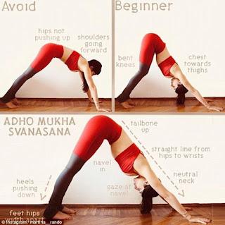 Kesalahan gerakan yoga yang berbahaya