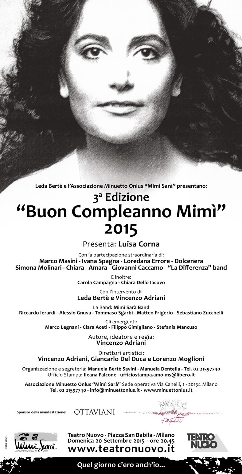 Riflettori Su Di Silvia Arosio Buon Compleanno Mimi Teatro