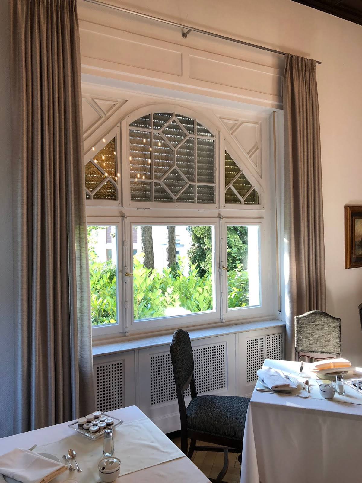 Frühstücksraum im Hotel Scarpati, Wuppertal