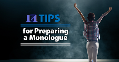 14 tips for preparing monolog for films/TV/ theater