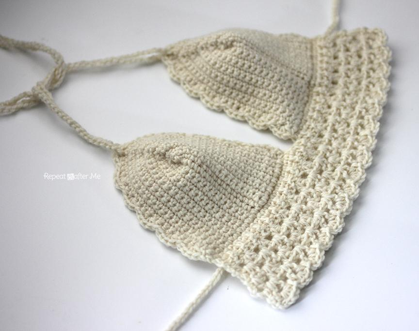 Crochet Bikini Top - Repeat Crafter Me