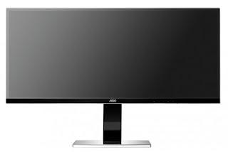 AOC U3477PQU - monitor ultrapanorámico