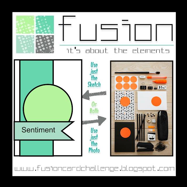 Fusion Card Challenge - Orange and Black