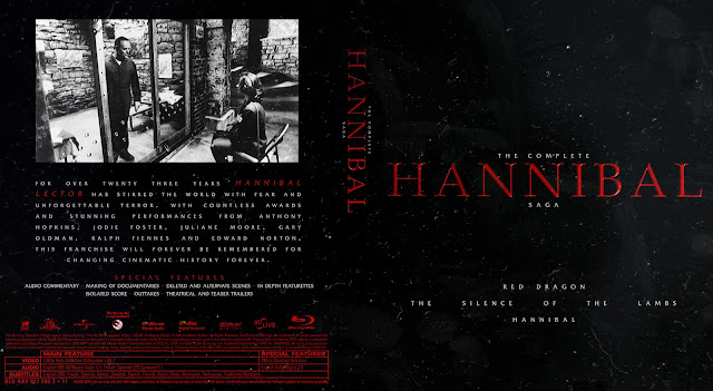 The Complete Hannibal Saga Bluray Cover