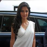 jagga jasoos Actress Katrina Kaif sexy photo In White Saree