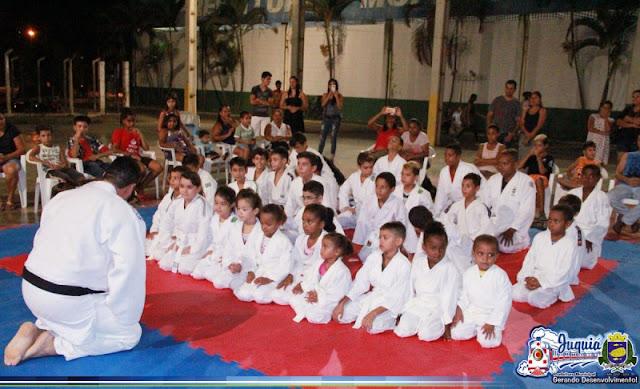Departamento de Esportes e Projeto Judô Juquiá realizam graduação de atletas