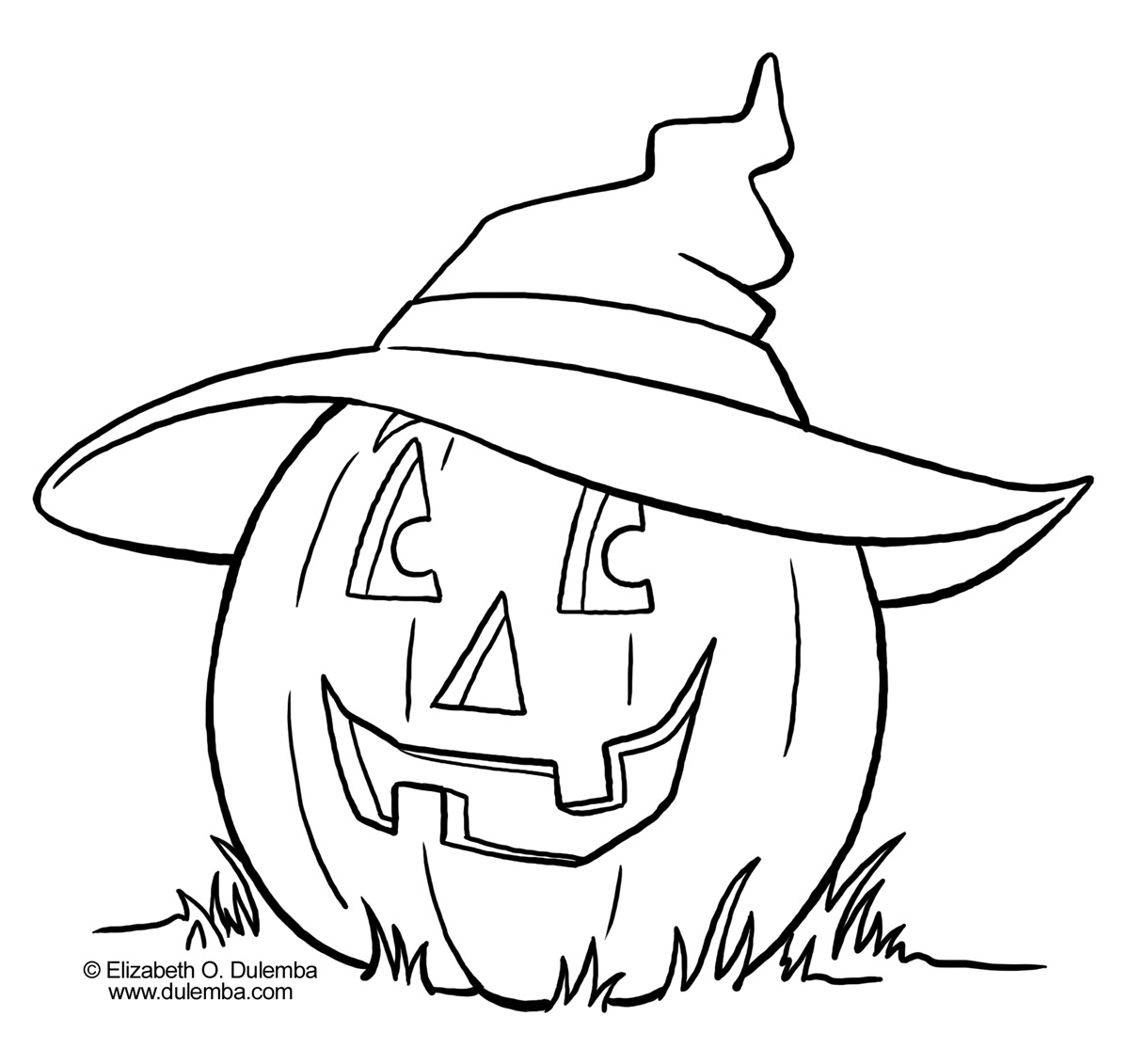 Pumpkin Coloring Pages Collections 2011
