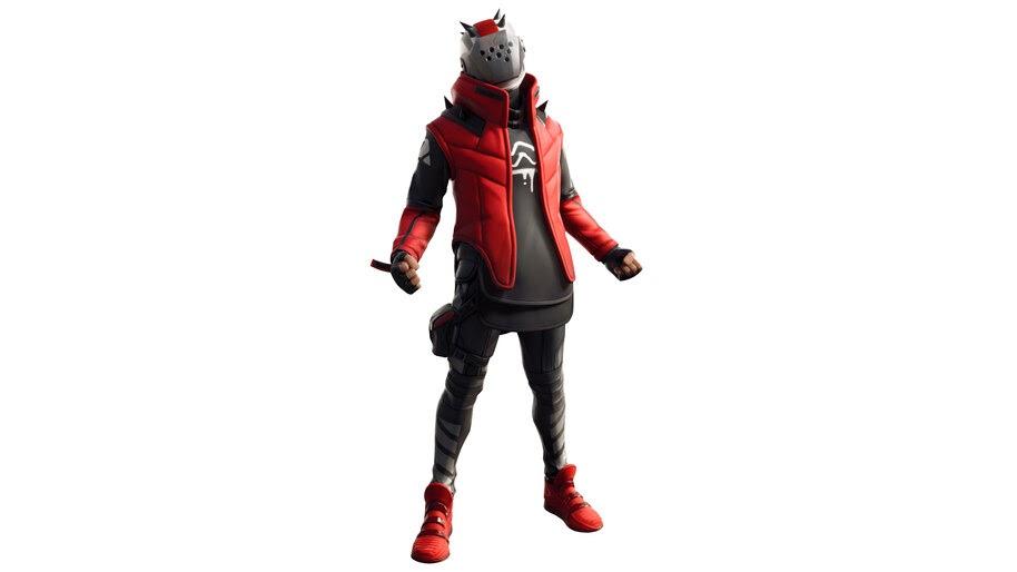 Fortnite X X Lord Crimson Season 10 Battle Pass Skin Outfit
