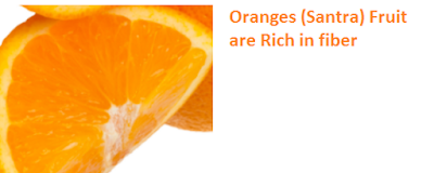 Health Benefits of Oranges (Santra) are Rich in fiber