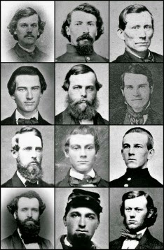 CIVIL WAR FACES