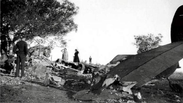 13 August 1940 worldwartwo.filminspector.com Canberra Australia air crash