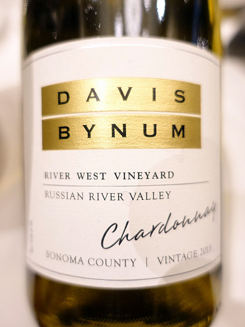 Davis Bynum River West Vineyard Chardonnay 2015 (90 pts)