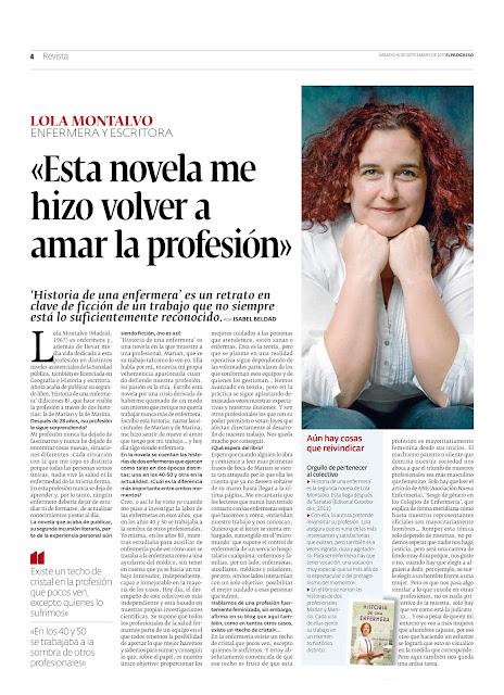 imagen de la entrevista que me hicieron en el Progreso de Lugo. foto del periódico