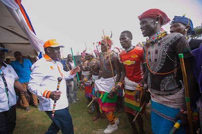 Raila and NaSa in Rift Valley. PHOTO | Courtesy