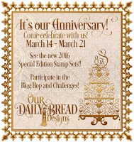 Our Daily Bread designs 8th Anniversary