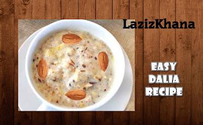 Daliya Recipe in Roman English - Daliya Banane ka Tarika.