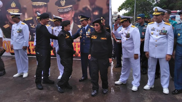 Saya ditenggelamkan Oleh TNI AL, Ucap Menteri Susi