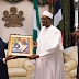 President Buhari receives Indian Vice President at the state House (PHOTOS)