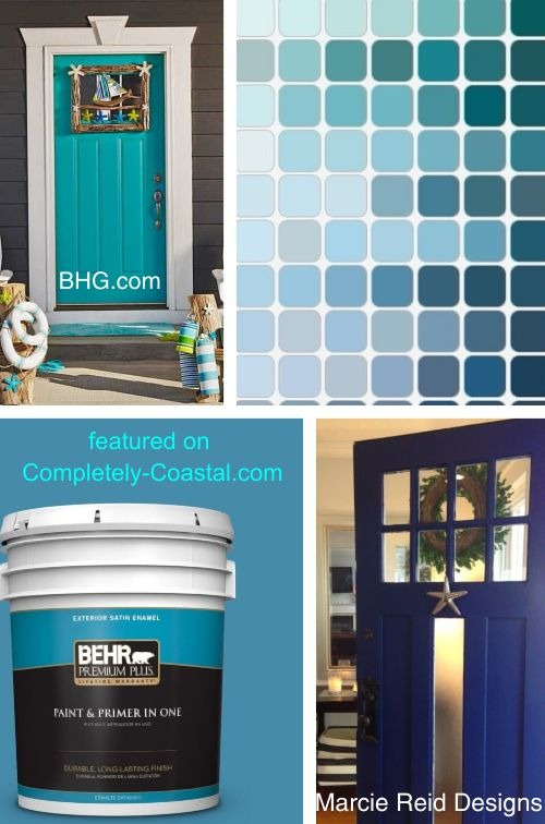 Blue Exterior Paint Colors at Home Depot