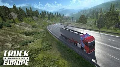 Truck Simulator PRO Europe Apk + Data free on Android
