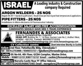 Construction company jobs in Israel