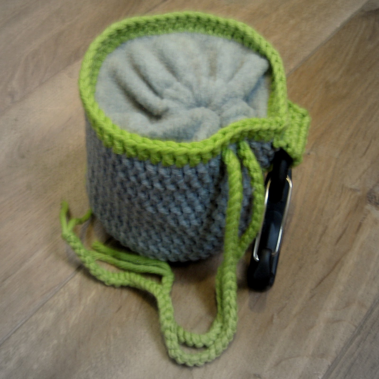 Streß Stricken Gehäkelte Chalk Bag