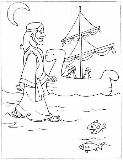 El Renuevo De Jehova: Jesus anda sobre el mar - Imagenes para ...