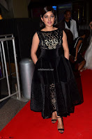 Niveda Thomas Black Sleeveless Cute Dress at 64th Jio Filmfare Awards South 2017 ~  Exclusive 003.JPG