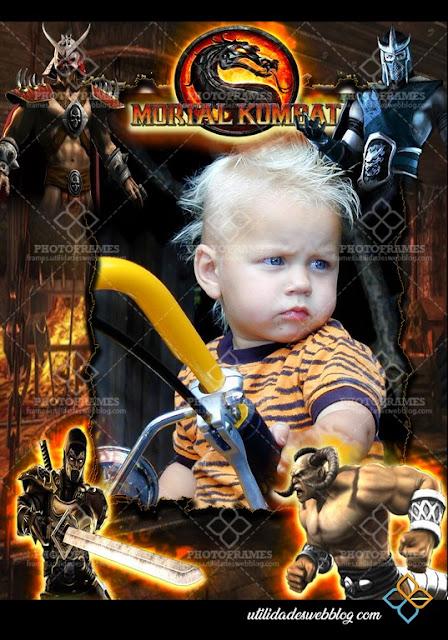 Mortal Kombat Picture Frame