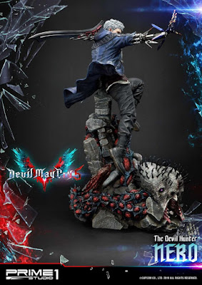 "Figuras: Increible figura de Nero de ""Devil May Cry 5"" de Prime 1 Studio"