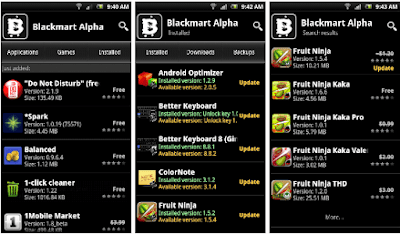 Blackmart Alpha features