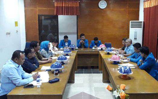 Temui Wakil Rakyat, Pengurus KNPI, Gagas Perda Kepemudaan