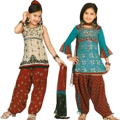 Indian Salwar Kameez For Kids Latest New Fashion Salwar Kameez Collection Designs in Pakistan And India Looking hot