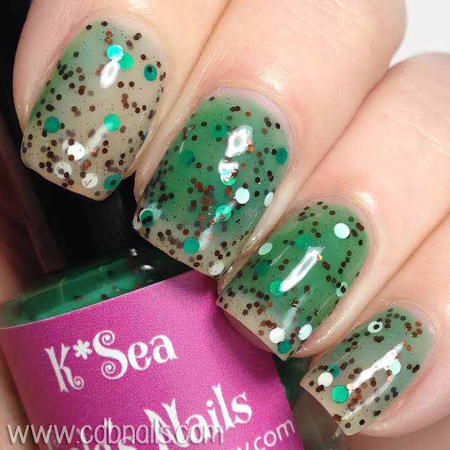 K*Sea Gale Nails-Coffee Break