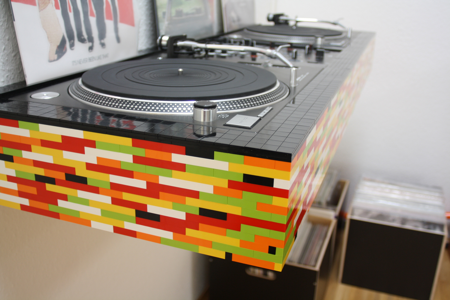 Photo Booth Wand Bauen Dj Pult On Pinterest Dj Booth Turntable And Dj Setup