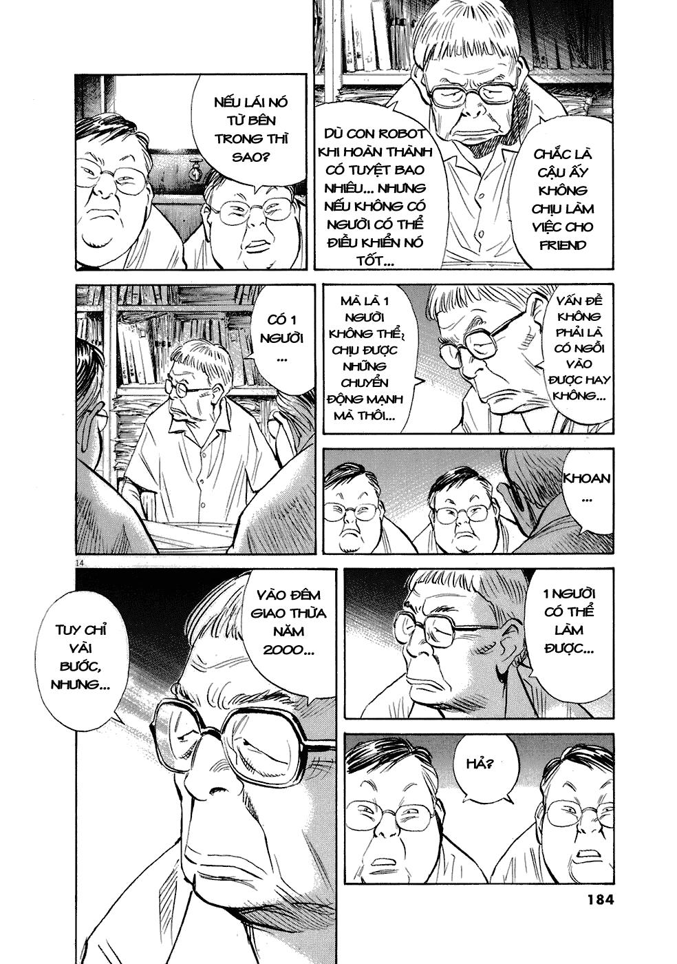 20th Century Boys chapter 224 trang 29