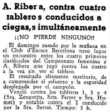 Recorte de Mundo Deportivo del 19 de abril de 1934