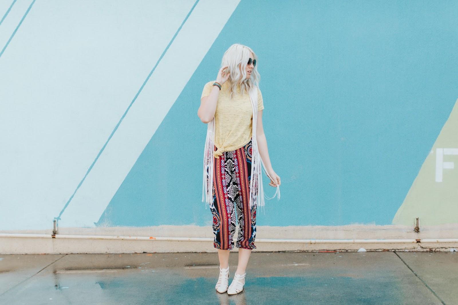 Harper Trends, Fringe Vest, Boho Outfit