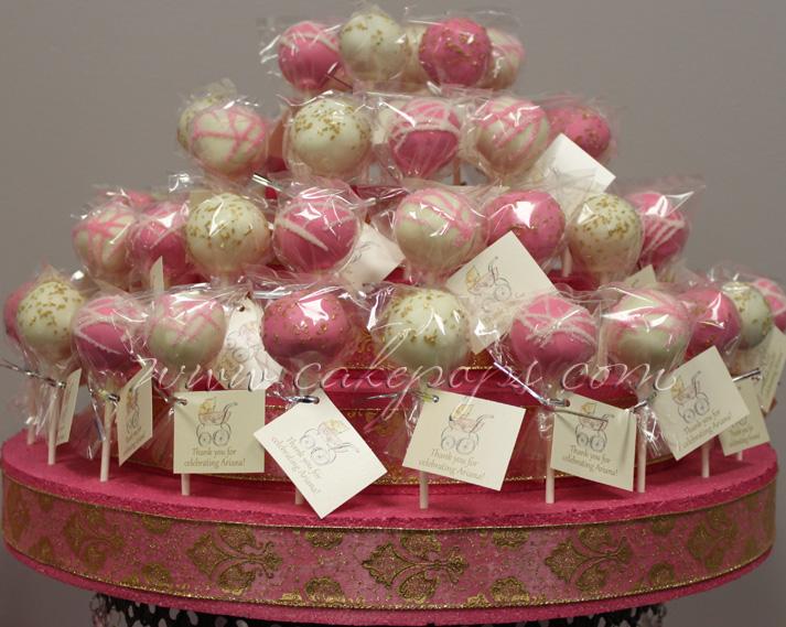 Candy's Cake Pops: Baby Shower Cake Pops
