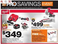 Home Depot Flyer Pro Savings Event June 14 - 21, 2017