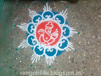 Rangolis for Vinayaka Chaturthi