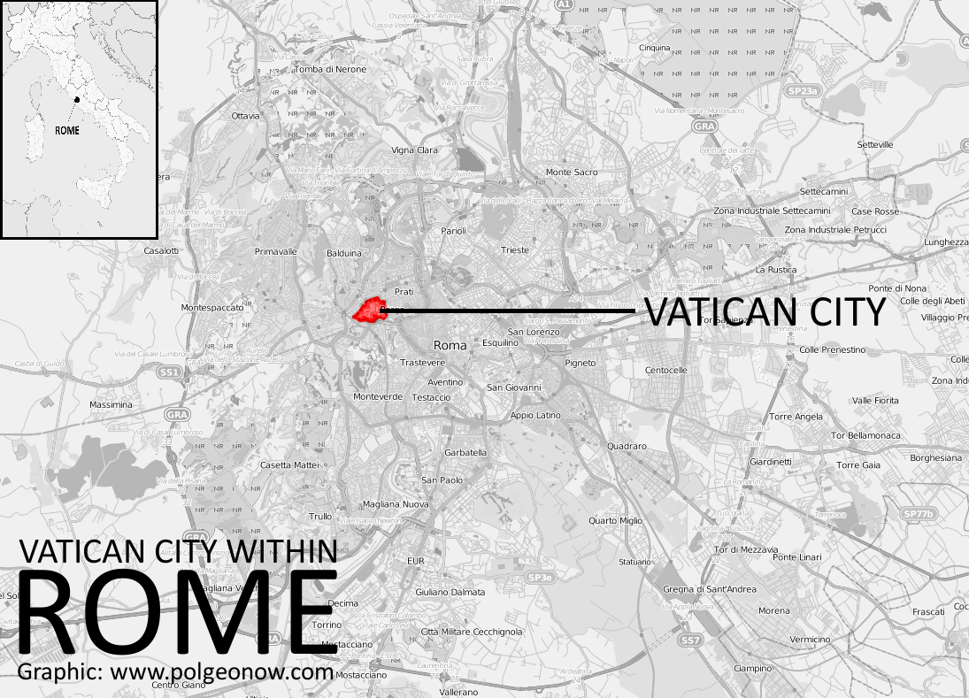What is Vatican City? - Political Geography Now