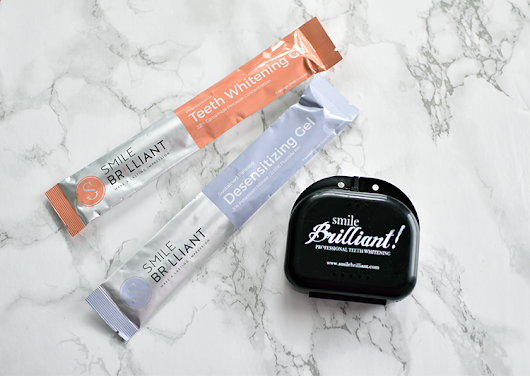 Teeth Whitening with Smile Brilliant + A Giveaway