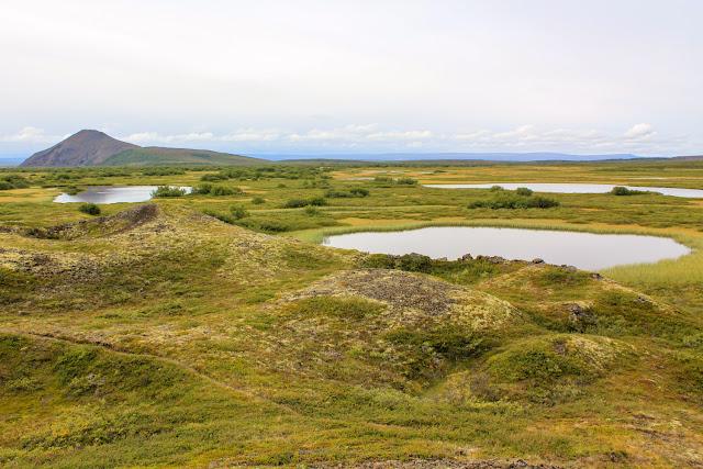Alrededores del lago Mývatn