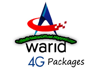 Warid 4G Hourly, Daily, 3 Days,weekly,Monthly Packages